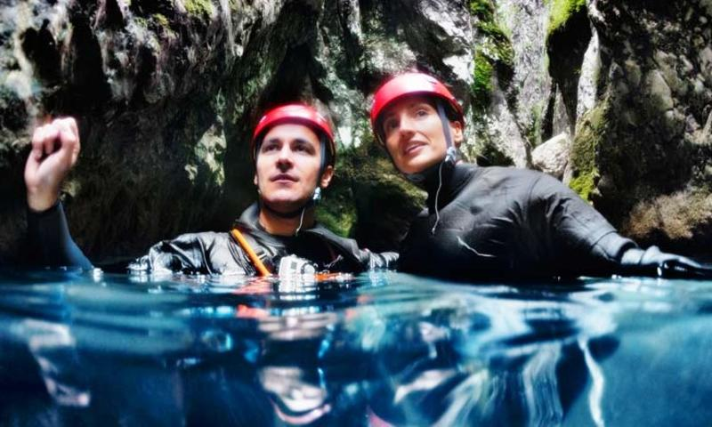 Canyoning in Primiero